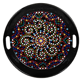 Portland Mosaic Mandala Tray